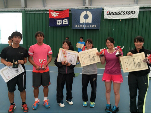 H28東海学生春季テニストーナメント大会