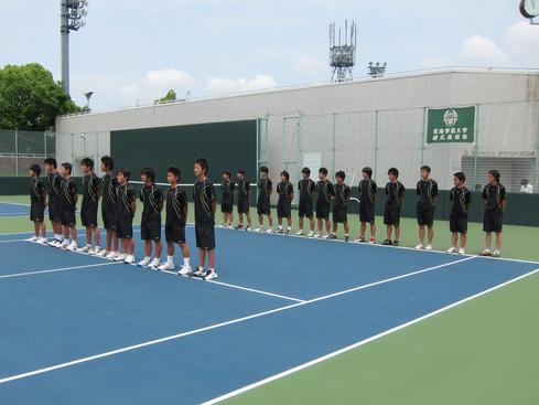 H23東海学生対抗テニスリーグ戦