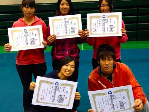 H25東海学生選抜室内テニス選手権大会