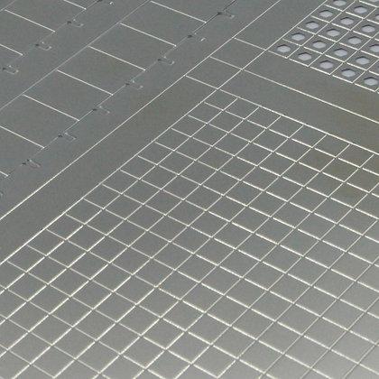 Metal sheet of Tecpack 40 3-in-1, prototype shielding can by Tecan