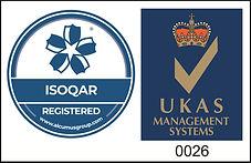 oAlcumus ISOQAR ISO 45001:2018 Logo