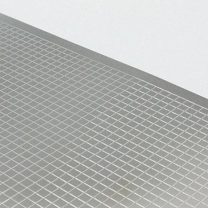 Metal sheet of Tecshield 40, prototype shielding can by Tecan
