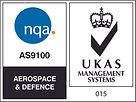 NQA AS9100 Aerospace & Defence Logo