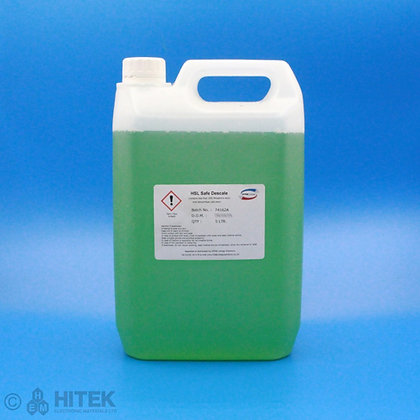 5 litre bottle of eco descale cleaner by HSL