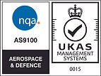 NQA AS9100 Aerospace and Defence Logo