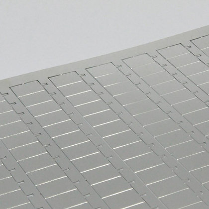 Metal sheet of Tecwall 40, prototype shielding can by Tecan