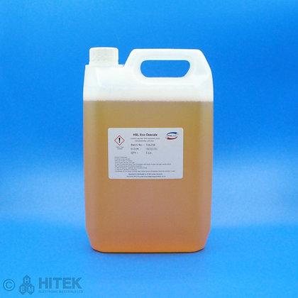 5 litre bottle of safe descale cleaner by HSL