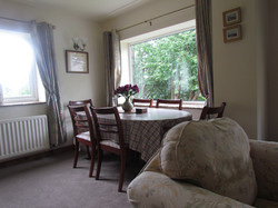 Dining table (in lounge)