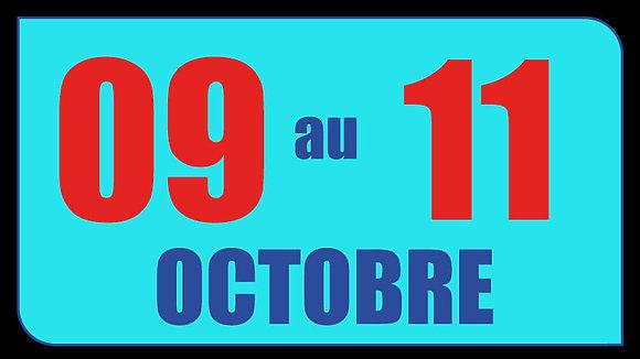 Circuit d'ARAGON (Espagne) - du 9 au 11 Octobre