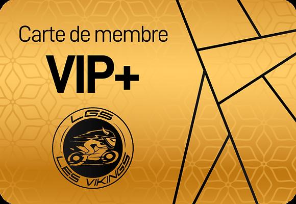Carte de membre VIP+