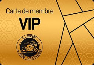 Carte de membre VIP