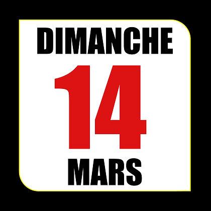 Circuit du Luc - Dimanche 14 Mars