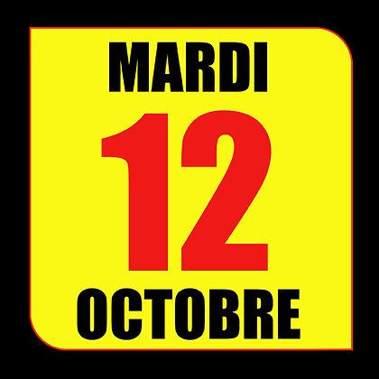 STAGE Circuit du Luc - Mardi 12 Octobre