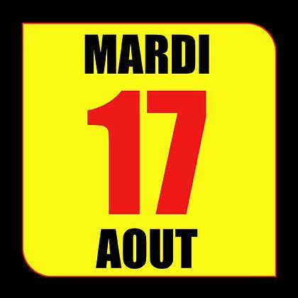 STAGE Circuit du Luc - Mardi 17 Août