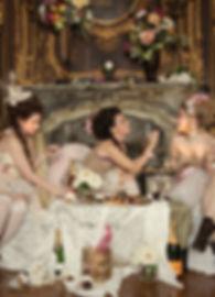 Marie Antoinette photo shoot