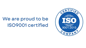 We are proud to be ISO 9001 certified.png