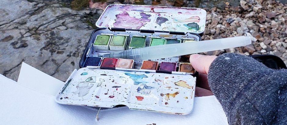 Hiking With Watercolors: Tips & Tricks