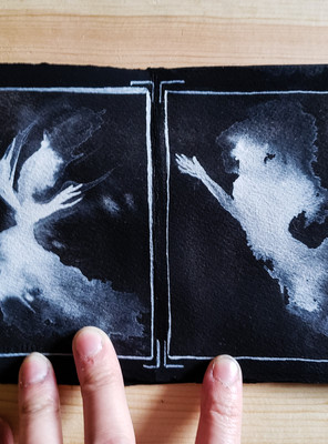 Art Tutorial: Gouache Ghosts