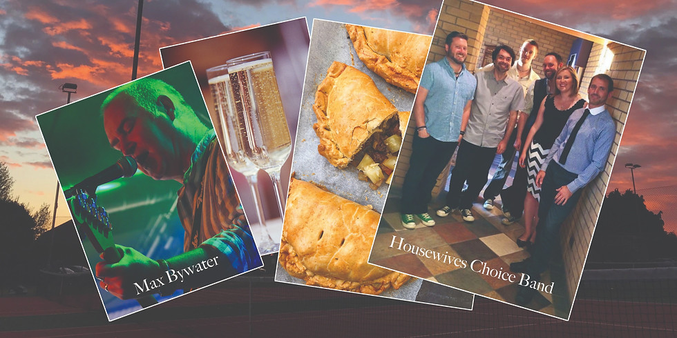Pop, Pasty and Prosecco Party!