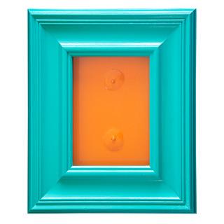 Turquoise & Orange SOLD
