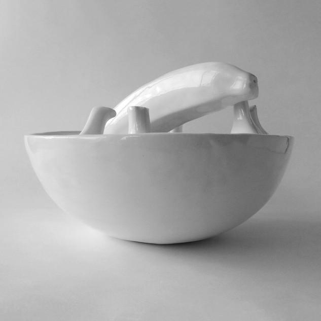 Small Banana Bowl #13