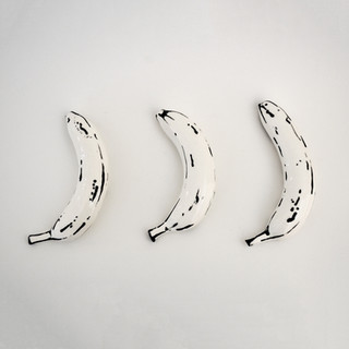 Ceramic Bananas B&W