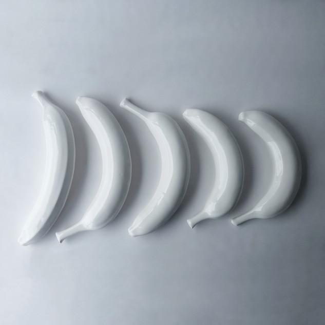Ceramic White Banana