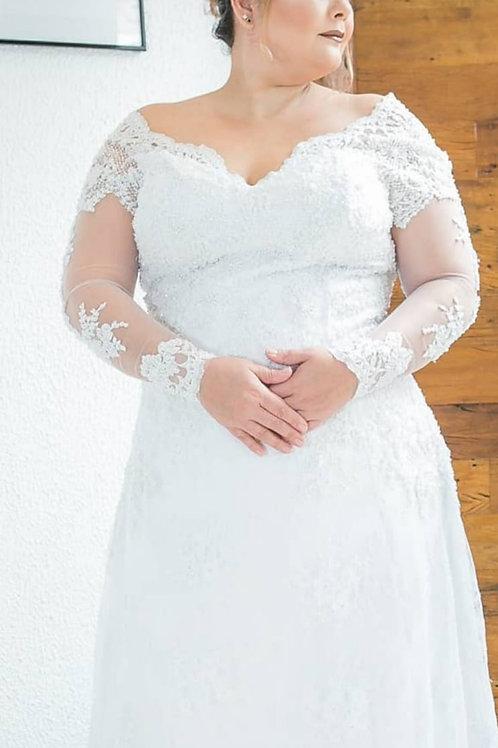 Vestido de Noiva Plus