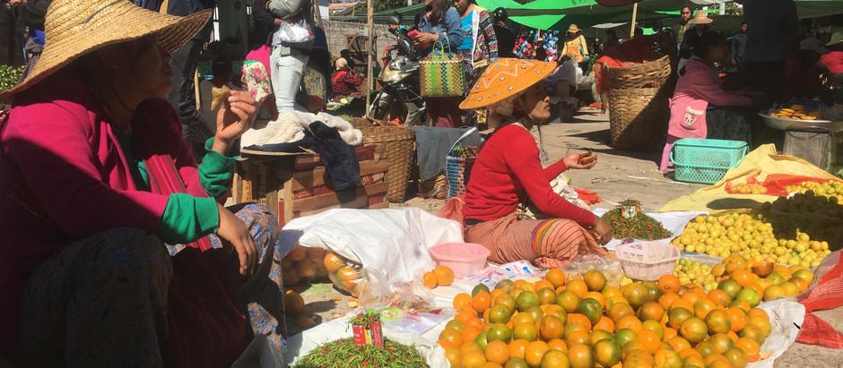 Myanmar - Kalaw & Trek