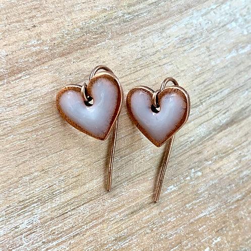 Tiny Heart Earrings