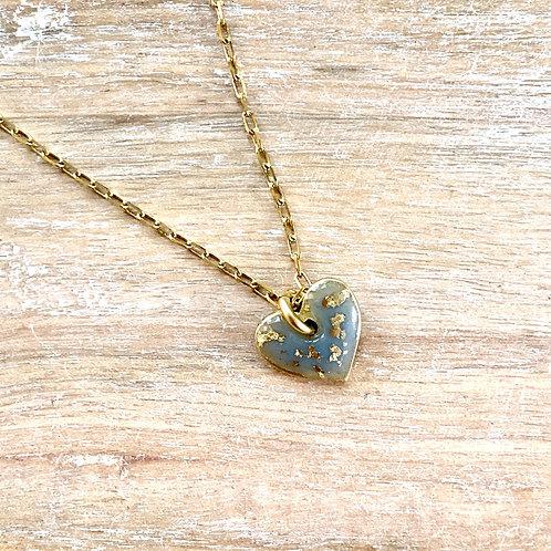 Tiny Heart Flex Necklace