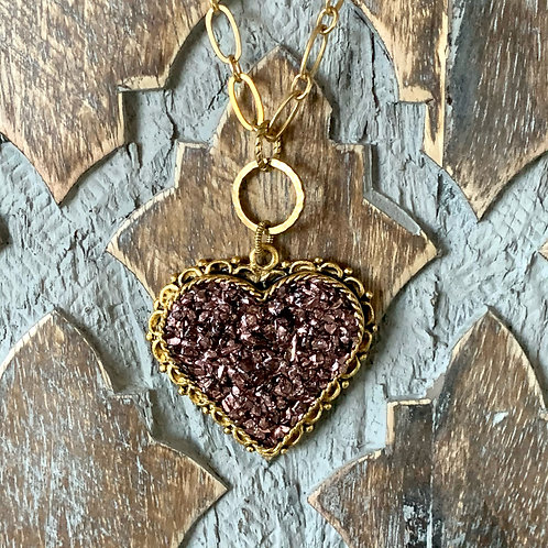 Crush Heart Necklace