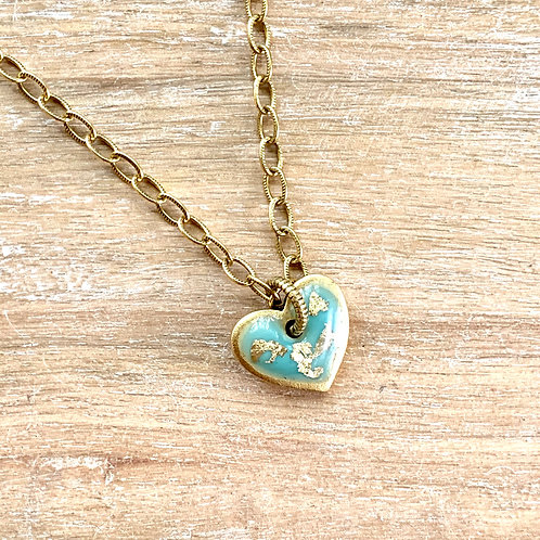 Tiny Heart Flex Necklace