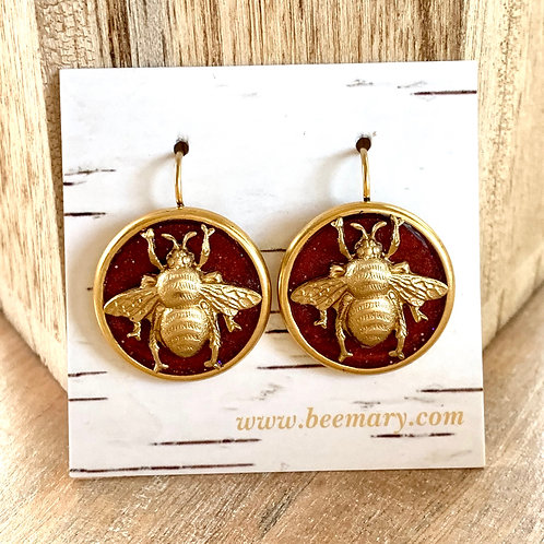 Bee Love Earrings