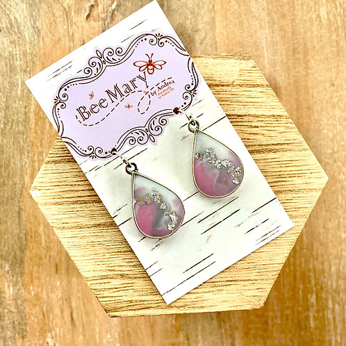Teardrop Metal Flex Earrings