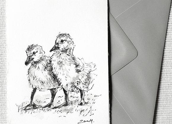 Duckling Siblings