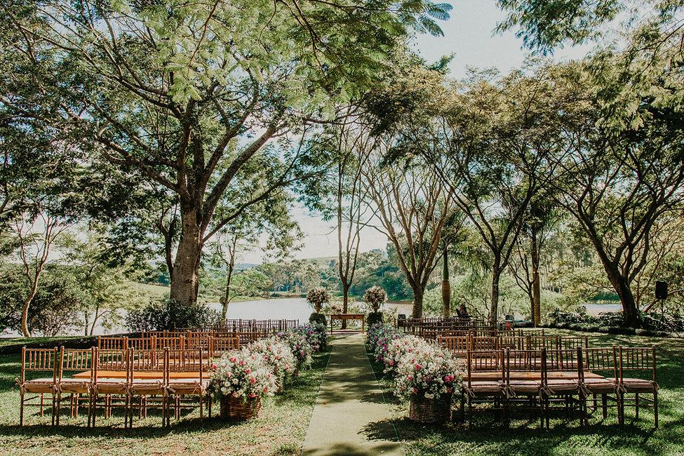 Cermônia de Casamento na Fazenda Lageado