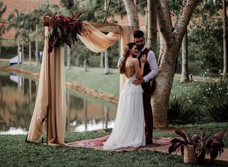 Elopement Wedding. Casamento a dois.