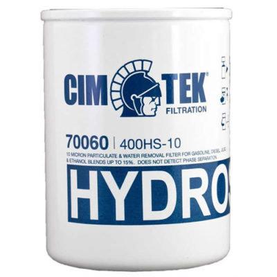 "CIMTEK 1.5"" 10 MICRON FILTER HYDROSORB 25GPM (400HS-10)"