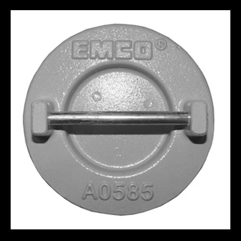 """EMCO 4"""" EXTRACTOR VENT VALVE PIPE CAP"""