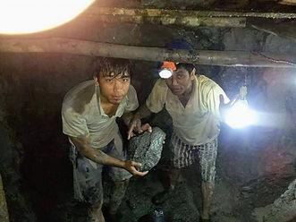 Myanmar amber mines
