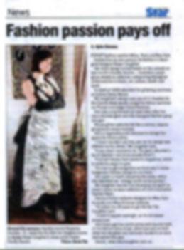 Robyn Caughlan in Penrith Star