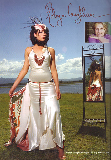 Robyn Caughlan in National Magazine