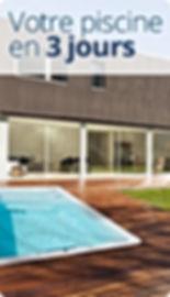 Mini piscine avec nage cc