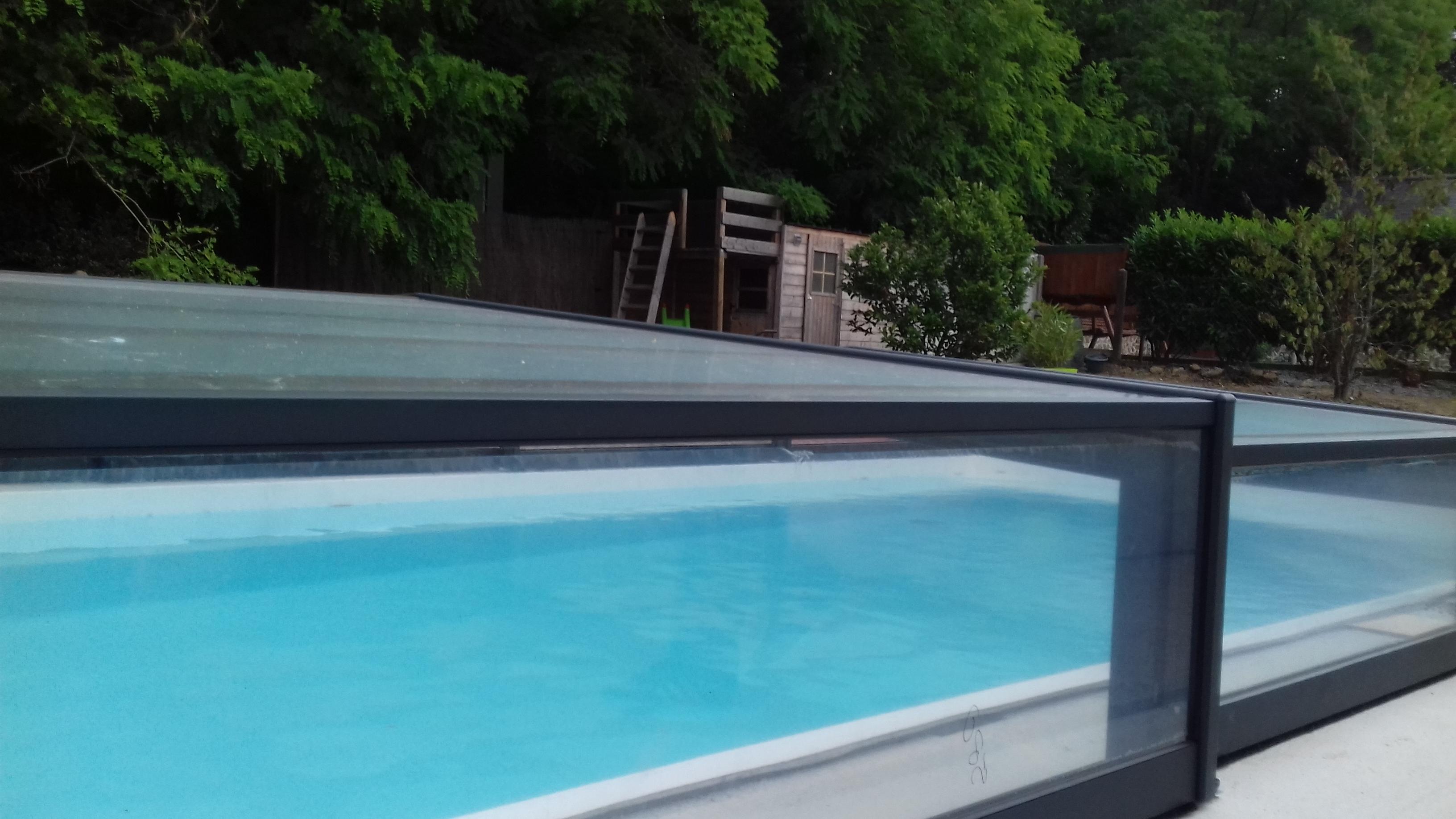 Abris piscine occasion garantis PERFECT ABRIS débarras gratuit abris