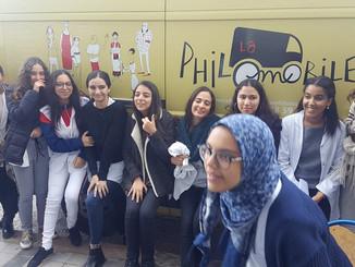 VOYAGE PHILOMOBILE JOUR 25. Dialogues philosophiques à Casablanca