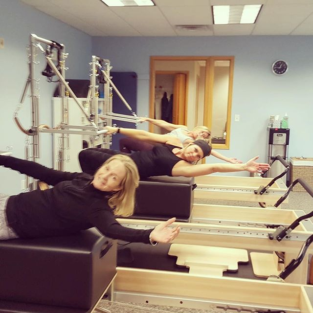Hanging off the towers, feels great and it's a lot of fun! #towerfun #pilates #strength #grandrapids