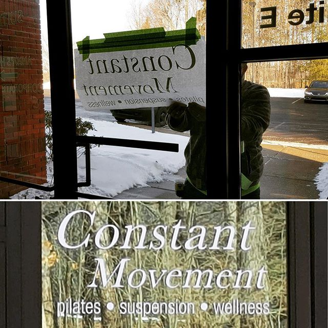 We are now easier to find with our new signage! Come check us out! #newsignage #pilates #official #g