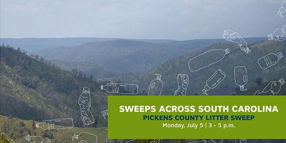 Sweeps Across South Carolina: Pickens County Litter Sweep