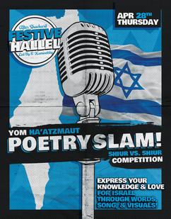 Yom Ha'Atzmaut Poetry Slam